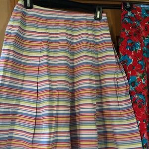 Size 14W Talbot's striped line skirt. Fully lined.